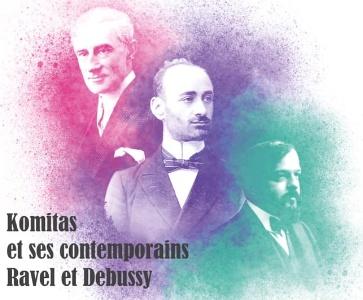 Komitas et ses contemporains Ravel et Debussy