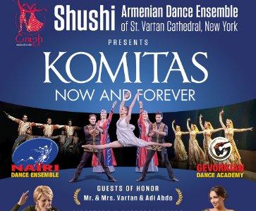 KOMITAS - NOW & FOREVER!