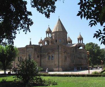 L'architecture des églises arméniennes