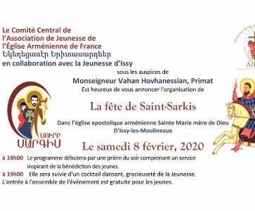 La Fête de Saint-Sarkis