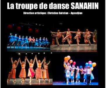 La troupe de danse SANAHIN
