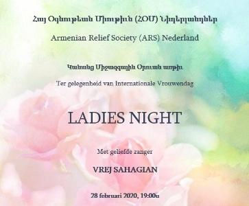 Ladies Night met Vrej Sahagian