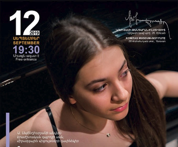 Laura Galstyan in Piano Recital