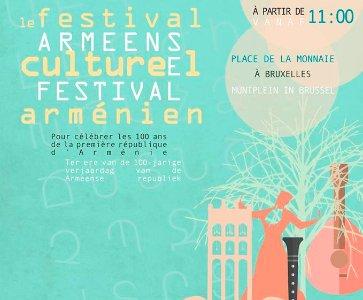 Le festival culturel arménien - Armeens cultureel festival