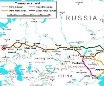 Le Transsibérien par le Dr Frédéric Manoukian