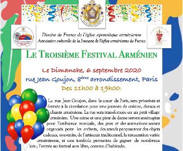 Le Troisième Festival Arménien