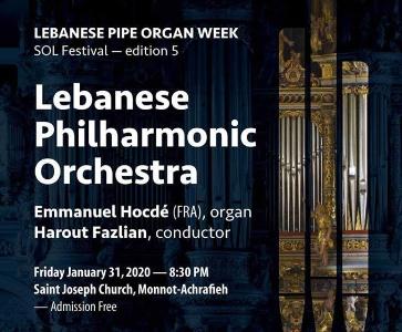 Lebanese Pipe Organ Week