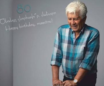 Ռոբերտ Ամիրխանյան 80. շնորհավո՜ր ծնունդդ, մաեստրո