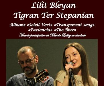 Lilit Bleyan et Tigran Ter Stepanian en concert