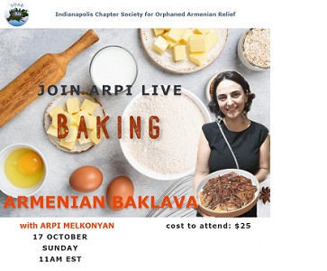 Live, Online Baklava Baking Class With SOAR Indianapolis