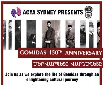 Gomidas Vartabeds 150th birthday - Մեր Վարպետը՝ Վարդապետը
