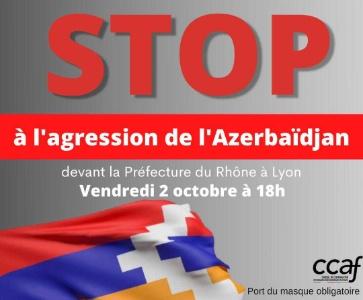 Manifestation à Lyon