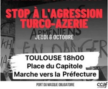 Manifestation de soutien à l'Artsakh