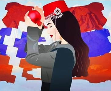 Manifestation pour la paix en Artsakh et en Arménie!