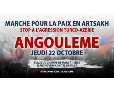 Marche pour la Paix en Artsakh