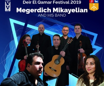 Megerdich Mikayelian and his band