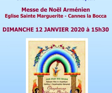 Messe de Noël Arménien