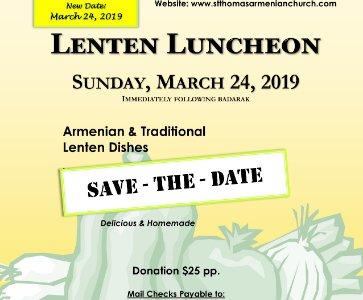 """Mid-Lenten """"Michink"""" Luncheon"""