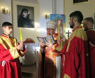 Msza św. w Parafii Centralnej