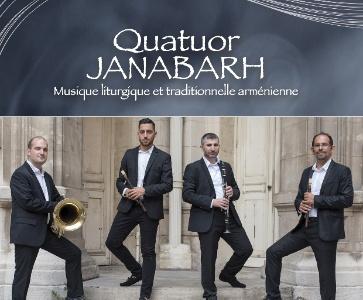 Musique liturgique et traditionnelle arménienne - Quatuor JANABARH