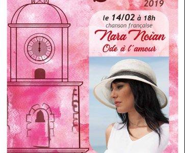 Nara Noïan en concert à Saint-Tropez (France)