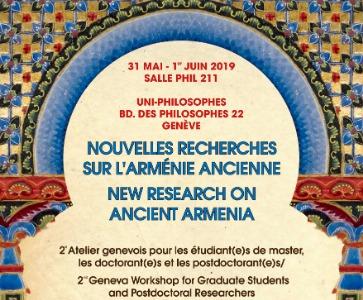 Nouvelles recherches sur l'Arménie ancienne / New research on ancient Armenia