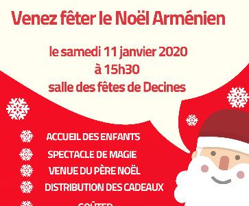 Noël arménien des enfants organisé par la MCA