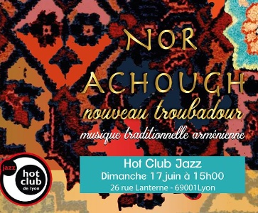 NOR Achough au Hot Club Lyon