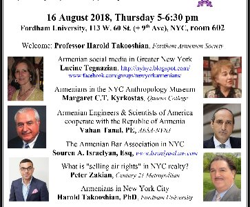 NYC Armenian Town Hall