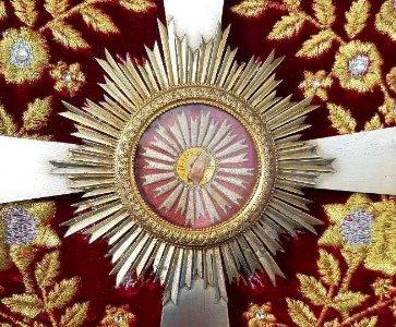 Office de bénédiction des fidèles avec le reliquaire sacré de Saint Grégoire l'Illuminateur