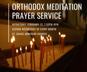 Orthodox Meditation Prayer Service