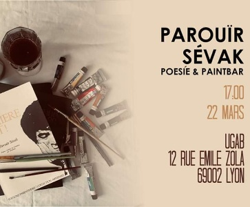 Parouir Sevak Poésie & Paintbar