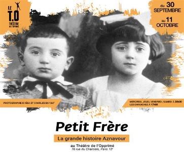 Petit frère, la grande histoire Aznavour au Théâtre de l'Opprimé