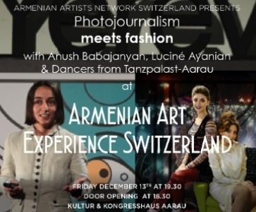 "Photojournalism meets Fashion & Dance ""Arshalyouys"""