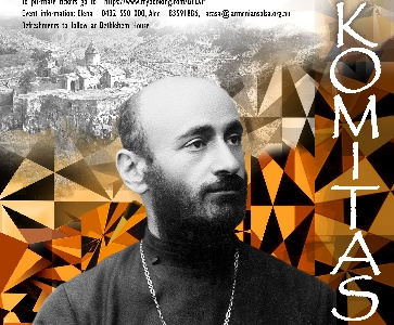 Piano and violin concert - 150th anniversary of Komitas Vardapet