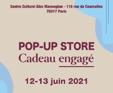 Pop-Up Store Cadeau Engagé