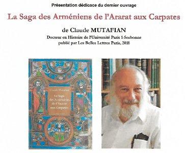 Présentation-Dédicace du dernier livre de Claude Mutafian