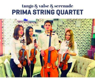 Prima string quartet concert in Goris