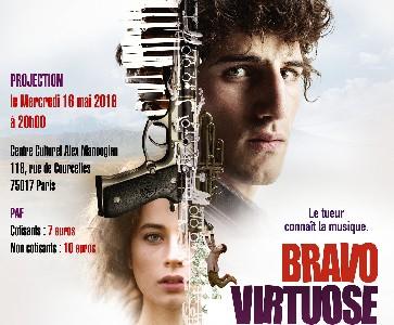 """Projection du film """"Bravo Virtuose"""" en présence de Levon Minasian et Michel Petrossian"""