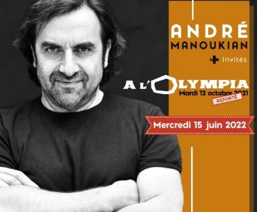 André Manoukian + invités à l'Olympia