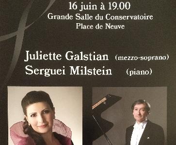 Recital Juliette Galstian (mezzo-soprano)