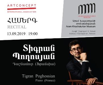Recital: Tigran Poghossian, Piano (France)