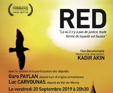 « RED », film documentaire de Kadir Akin à Alfortville en présence de Garo Paylan