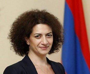 Rencontre avec Madame Anna HAKOBYAN