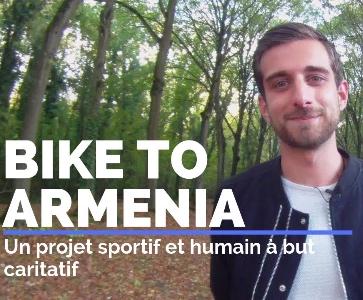 "Rencontre-Présentation : ""Bike to Armenia"" par Téo Boutinaud"