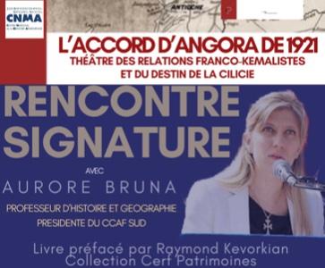 Rencontre-signature avec Aurore Bruna