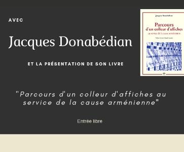 Rencontre-Signature avec Jacques Donabédian