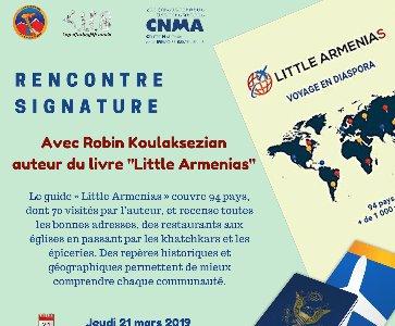 Rencontre signature avec Robin Koulaksezian, auteur de Little Armenias