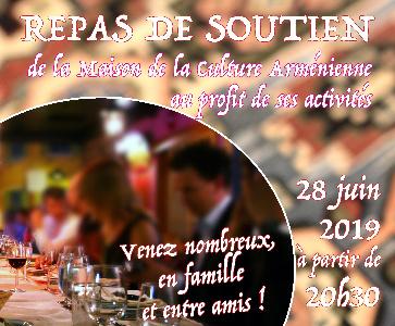Repas annuel de Soutien de la M.C.A. d'Issy-les-Moulineaux