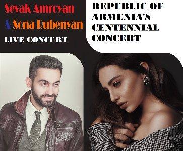 Republic of Armenia's Centennial concert